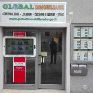 Global Imm.  B.go Valsugana, Vetrina Touch